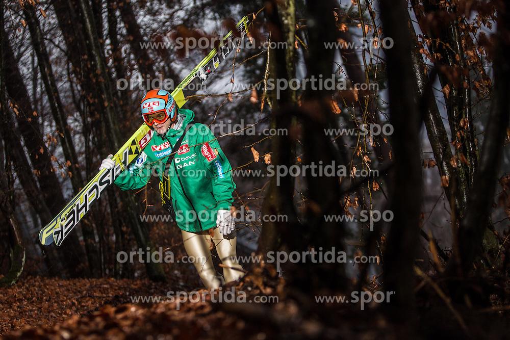 05.01.2014, Paul Ausserleitner Schanze, Bischofshofen, AUT, FIS Ski Sprung Weltcup, 62. Vierschanzentournee, Training, im Bild Tom Hilde (NOR) // Tom Hilde (NOR) during practice Jump of 62nd Four Hills Tournament of FIS Ski Jumping World Cup at the Paul Ausserleitner Schanze, Bischofshofen, Austria on 2014/01/05. EXPA Pictures © 2014, PhotoCredit: EXPA/ JFK