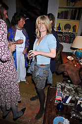 RACHEL JOHNSON at a party to celebrate the publication of Charles Glass's new book 'Americans in Paris' held at 12 Lansdowne Road, London W1 on 25th March 2009.