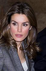 DEC 3 2012 Princess of Spain, Letizia