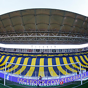 Fenerbahce's and Besiktas's during their Turkish superleague soccer derby Fenerbahce between Besiktas at the Sukru Saracaoglu stadium in Istanbul Turkey on Sunday 22 March 2015. Photo by Aykut AKICI/TURKPIX