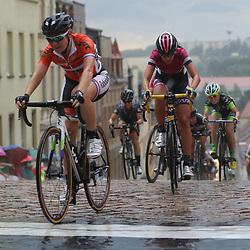 19-07-2015: Wielrennen: Thueringen Rundfahrt: Meerane<br /> Amy Pieters kwam voor in de groep over de finish