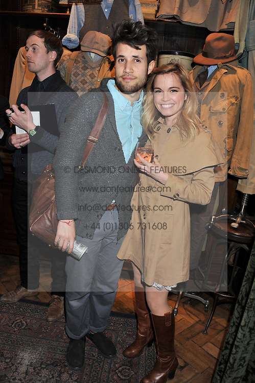 CHRIS PRICE and CHOOCHY WOLFF at a reception hosted by Ralph Lauren Double RL and Dexter Fletcher before a private screening of Wild Bill benefitting FilmAid held at RRL 16 Mount Street, London on 26th March 2012.