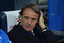 August 24, 2017 - Saint-Petersburg, Russia - Of The Russian Federation. Saint-Petersburg. Zenit-Arena. Arena Saint-Petersburg. The UEFA Europa League. The second leg of the round of the playoffs Zenit - Utrecht. Zenit won with the score 2:0. Roberto Mancini; head coach; (Credit Image: © Russian Look via ZUMA Wire)