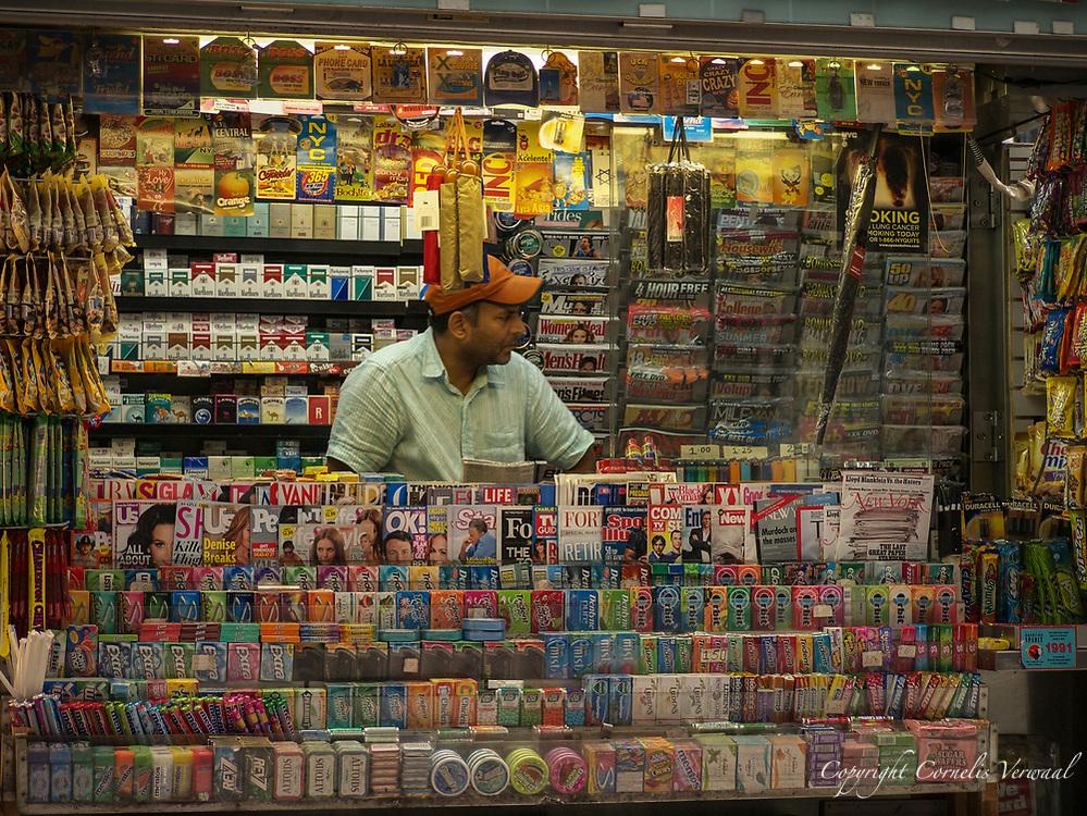 A New York City Newsstand