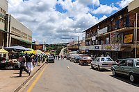 Manzini is the nation's second largest city and main industrial centre. The Kingdom of Swaziland in Southern Africa, bordered by South Africa and Mozambique.