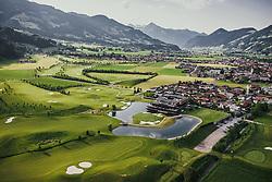 THEMENBILD - Golfplatz und Sportresidenz Zillertal. Der 18-Loch-Championshipplatz mit überdachter Drivingrange für PROS und Anfänger, aufgenommen am 05. Juni 2019 in Uderns Oesterreich // Golf course and sports residence Zillertal. The 18-hole championship course with covered driving range for PROS and beginners, in Uderns, Austria on 2019/06/05. EXPA Pictures © 2019, PhotoCredit: EXPA/ JFK