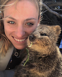 """Angelique Kerber releases a photo on Instagram with the following caption: """"Finishing the year with local friends \ud83d\ude0d #justanotherdayinWA #hopmancup #Quokka \u2764\ufe0f"""". Photo Credit: Instagram *** No USA Distribution *** For Editorial Use Only *** Not to be Published in Books or Photo Books ***  Please note: Fees charged by the agency are for the agency's services only, and do not, nor are they intended to, convey to the user any ownership of Copyright or License in the material. The agency does not claim any ownership including but not limited to Copyright or License in the attached material. By publishing this material you expressly agree to indemnify and to hold the agency and its directors, shareholders and employees harmless from any loss, claims, damages, demands, expenses (including legal fees), or any causes of action or allegation against the agency arising out of or connected in any way with publication of the material."""