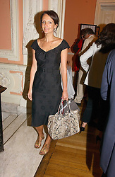 SAFFRON ALDRIDGE at a party to celebrate the publication of 'A Much Married Man' by Nicholas Coleridge held at the ESU, Dartmouth House,  37 Charles Street, London W1 on 4th May 2006.<br />