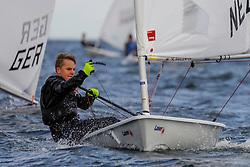 , Kieler Woche 16.06. - 24.06.2018, Laser Rad. - NED 209462 - Erwin Wijbenga