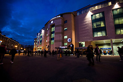 Fans arrive at Stamford Bridge for tonight FA Cup tie, Chelsea v Manchester United - Mandatory by-line: Jason Brown/JMP - 13/03/2017 - FOOTBALL - Stamford Bridge - London, England - Chelsea v Manchester United - Emirates FA Cup Quarter Final