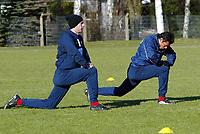 v.l. Sergej BARBAREZ, Rodolfo CARDOSO<br /> Fu§ball Training Hamburger SV