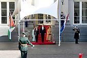 Officieel bezoek Jordanie aan Nederland - Dag 1