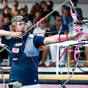 Brady ELLISON (USA) competes in Archery World Cup Final in Istanbul, Turkey, Sunday, September 25, 2011. Photo by TURKPIX