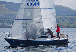 Lights winds dominated the Pelle P Kip Regatta  at Kip Marine weekend of 12/13th May 2018<br /> <br /> Lambretto , Sonata, Craig Hepplewhite<br /> <br /> Images: Marc Turner
