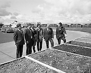 British Merchants Visit Bord Na Mona..07.06.1972..06.07.1972..7th June 1972..A group of forty British Merchants were invited by Bord na Mona to tour their works at Coolnamona,Portlaoise,Co Laois..Mr F Kiernan,Accountant,Kilberry, Mr J W Herenveld,Anglo DutchHorticulture, woodmansey,East Yorks, Mr P G Palmer,Fyffes-Monro horticulture Sundries Ltd,Chichester,Sussex, Mr C w matthews,UK Technical Sales Representative,Bord na Mona, Mr D Power,Civil Engineer,Bord na Mona and Mr J O'Donnell,Accountant,Coolnamona study vthe different growing mediums produced at the plant.