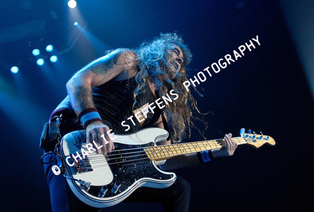 Steve Harris<br /> Iron Maiden<br /> February 19, 2008<br /> The Forum<br /> Inglewood, California