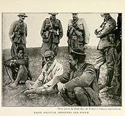 Natal Political Prisoners And Police From the Book '  Britain across the seas : Africa : a history and description of the British Empire in Africa ' by Johnston, Harry Hamilton, Sir, 1858-1927 Published in 1910 in London by National Society's Depository