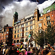 Copenhagen Pride is Denmark's largest annual Human Rights festival, focused on LGBT issues. It involves the entire capital Copenhagen and is held in August. A colourful and festive occasion, it combines political issues with concerts, films and a parade. The focal point is the City Hall Square in the city centre.