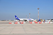 Israel, Ben-Gurion international Airport MNG Airlines Cargo Jet on the ground