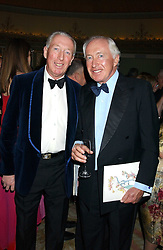 Left to right, brothers PETER BECKWITH and JOHN BECKWITH at the Dyslexia Awards Dinner attended by HRH The Countess of Wessex held at The Dorchester Hotel, Park Lane, London on 9th November 2005.<br /><br />NON EXCLUSIVE - WORLD RIGHTS