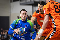 25-10-2019 SLO: Slovenia - Netherlands, Ormoz<br /> Rok Ovniček of Slovenia during friendly handball match between Slovenia and Nederland, on October 25, 2019 in Sportna dvorana Hardek, Ormoz, Slovenia.