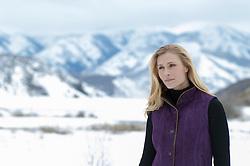 woman outdoors in Colorado