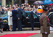 Spanish King and Queen visiting Luxemburg