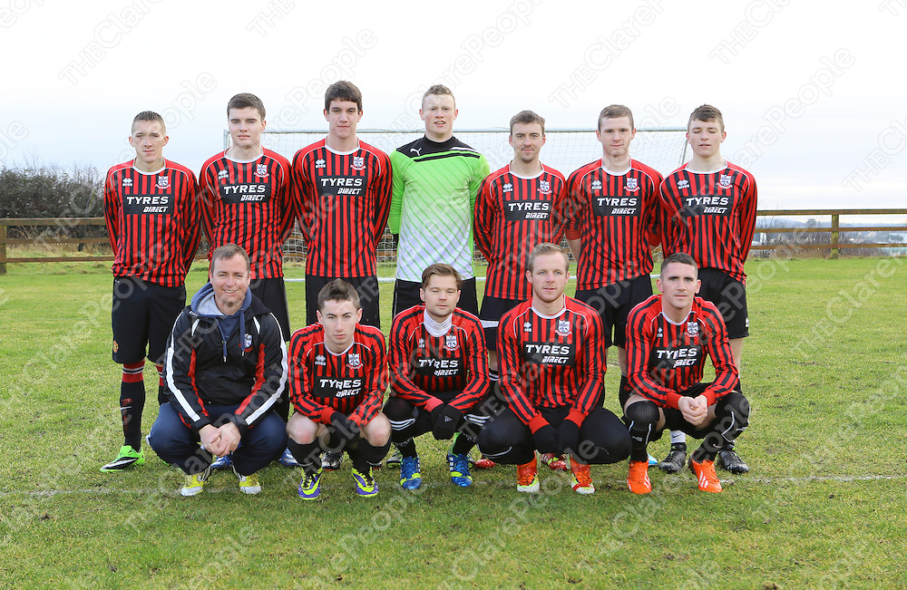 Bridge Utd who Played Lifford A in Premier League Game  in Ennis . <br /> Picture Credit Brian Gavin Press 22