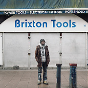 Brixton tools.<br /> 16 Brixton Station Road.<br /> <br /> The shop opened 20 years ago. Toby has been working there for 2 years. If the shop closes 2 people will be affected.
