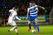Queens Park Rangers defender Geoff Cameron (5) during the EFL Sky Bet Championship match between Swansea City and Queens Park Rangers at the Liberty Stadium, Swansea, Wales on 11 February 2020.