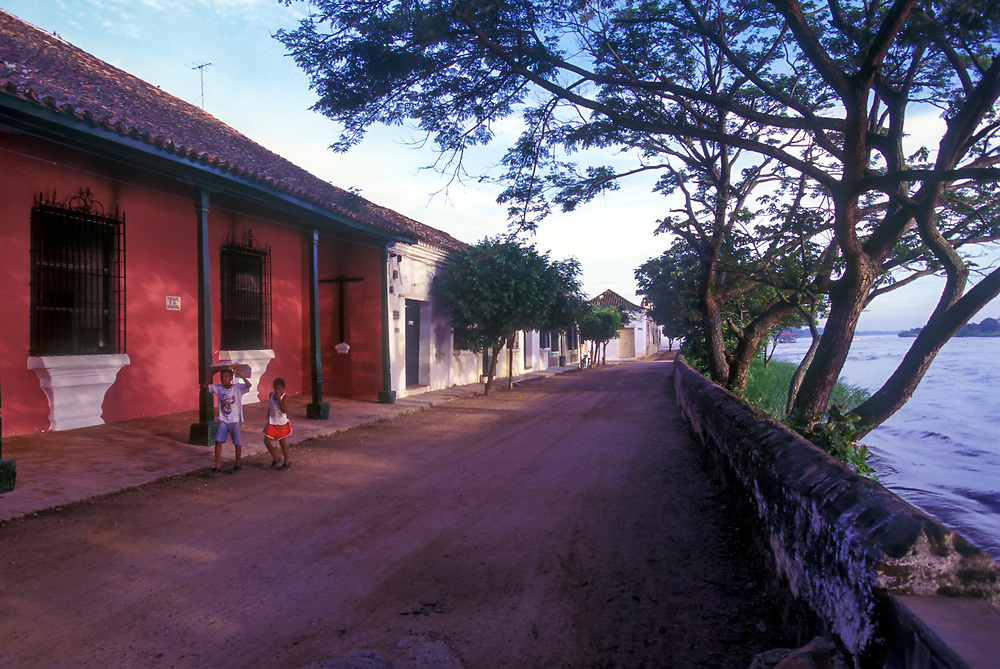 The magical town of Mompox on the Magdalena River, Bolivar Province. Widely believed to be the basis for Garcia Marquez's fictional town of Macondo.
