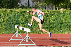 Blaz Grad competes during day 1 of Slovenian Athletics Cup 2019, on June 15, 2019 in Celje, Slovenia. Photo by Peter Kastelic / Sportida