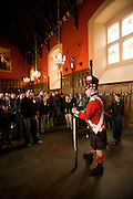 Great Hall, Edinburgh Castle, Edinburgh Scotland, UK