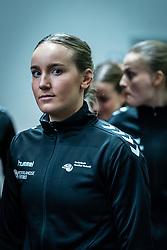 Nikita van der Vliet of Netherlands before the Women's EHF Euro 2020 match between Netherlands and Germany at Sydbank Arena on december 14, 2020 in Kolding, Denmark (Photo by RHF Agency/Ronald Hoogendoorn)
