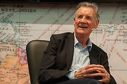 © Licensed to London News Pictures. 02/02/2017. London, UK. Michael Palin, TV presenter and Monty Python member, speaks at the Destinations: The Holiday & Travel Show, taking place at Olympia, 2 - 5 February, which brings together leading tour operators, exhibitors and more to provide the visitors with inspiration to travel to new destinations. Photo credit : Stephen Chung/LNP