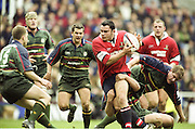 Reading. England. UK. Gloucest wing, Robert TODD, during the Premiership Rugby. London Irish vs Gloucester Rugby. 16.04.2001. Madejski Stadium. <br /> <br /> [Mandatory Credit, Peter Spurrier/ Intersport Images].