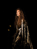 Lorde performing at The Orpheum ~ Boston March 2014