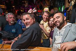 Bike night at the Dirty Dogg Saloon to help kick off Arizona Bike Week 2014. USA. April 3, 2014.  Photography ©2014 Michael Lichter.