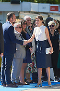 Queen Letizia of Spain attends Opening of Madrid Book Fair at Parque del Retiro on May 31, 2019 in Madrid, Spain