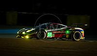 Qualifying Gianmaria Bruni (ITA) / James Calado (GBR) / Alessandro Pier Guidi (ITA) driving the LMGTE Pro AF Corse Ferrari 488 GTE  24hr Le Mans 15th June 2016