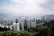 A beautiful view of Hong Kong