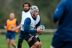 Fitz Harding of Bristol Bears in action during a training session - Rogan/JMP - 04/03/2021 - RUGBY UNION - Bristol Bears High Performance Centre - Bristol, England.