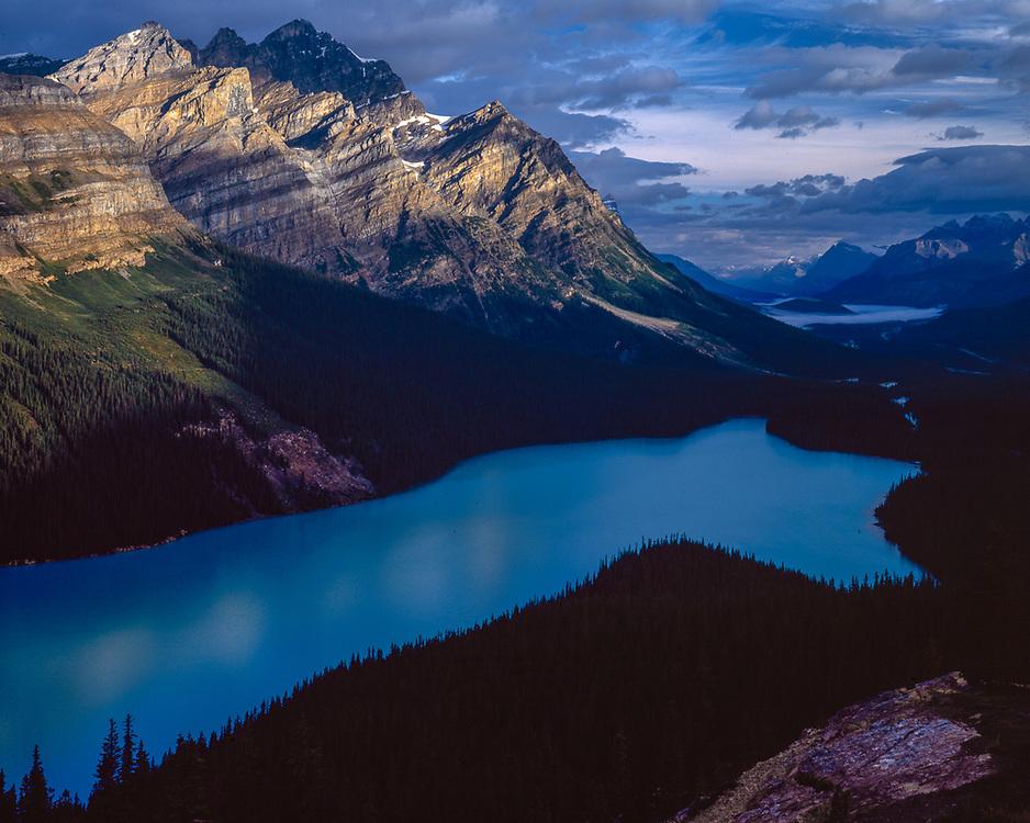 Peyto Lake, autumn, Banff National Park, Alberta, Canada