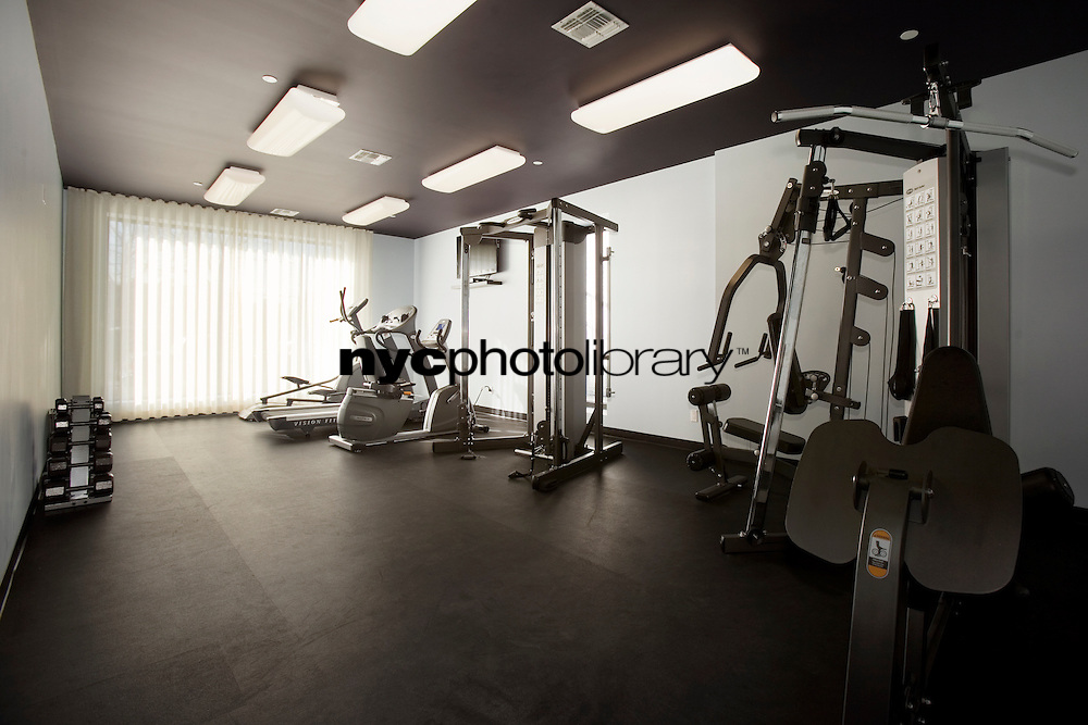 Gym at 11-25 45th Avenue