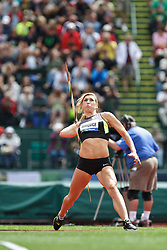 Olympic Trials Eugene 2012: women's Javelin, Rachel Yurkovich, Olympian
