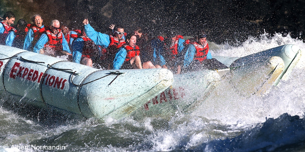 Wild River Rafting, Hell's Gate, Fraser Canyon, B.C. Canada