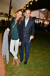 BEN GOLDSMITH and JEMIMA JONES at the Battersea Power Station Annual Party at Battersea Power Station, 188 Kirtling Street, London SW8 on 30th April 2014.