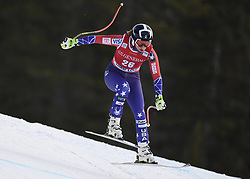 30.11.2017, Lake Louise, CAN, FIS Weltcup Ski Alpin, Lake Louise, Abfahrt, Damen, 3. Training, im Bild Alice Mckennis (USA) // Alice Mckennis of the USA in action during the 3rd practice run of ladie's Downhill of FIS Ski Alpine World Cup at the Lake Louise, Canada on 2017/11/30. EXPA Pictures © 2017, PhotoCredit: EXPA/ SM<br /> <br /> *****ATTENTION - OUT of GER*****