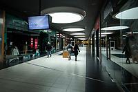 Lomza, 16.03.2020. Pustki na ulicach i w sklepach w obawie przed zarazeniem koronowirusa N/z opustoszala najwieksza galeria handlowa w miescie Veneda fot Michal Kosc / AGENCJA WSCHOD