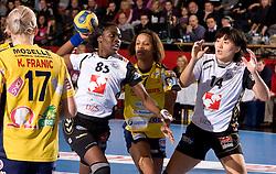 Ana Miriam Do Espirito Ferreira De Sousa of Krim at handball match of Round 5 of Champions League between RK Krim Mercator and Metz Handball, France, on January 9, 2010 in Kodeljevo, Ljubljana, Slovenia. (Photo by Vid Ponikvar / Sportida)